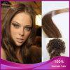 4#まっすぐなブラジルのバージンの毛はイタリアのケラチンの毛の拡張をVひっくり返す