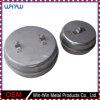Deep Drawn piezas de diseño de acero de caja redonda (WW-DD012)