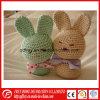 Venta caliente de ganchillo algodón Conejo juguetes para bebé producto