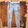 Ladies' Denim Jeans avec sept Socks de clou Manuel Pearl (HDLJ0008)