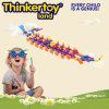 Bloc constitutif de jouets créateurs pour des enfants dans la forme de bateau