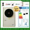 Chauffe-eau de pompe à chaleur d'inverseur de C.C de salle 12kw/19kw/35kw Evi de mètre du chauffage 100~500sq de radiateur d'étage de région de l'hiver de Netherland -25c