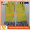 2017 Ddsafety Желтый латекс домашних хозяйств латексные перчатки домашних хозяйств