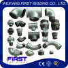Curvature lunghe malleabili galvanizzate standard di spazzata di M& F della ghisa 1 di DIN/JIS/GB