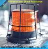 Het LEIDENE Licht van de Waarschuwing met het Rek van het Metaal voor de Toepassing van de Apparatuur van de Mijnbouw