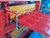 Rullo d'acciaio di profilo del tetto di tre strati che forma macchina per il cliente del Cameroun