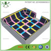 Carré coloré Sport lit Grand trampoline