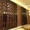 Фабрика PVD экрана искусствоа Foshan покрыла отделку зеркала экрана 8k рассекателя комнаты искусствоа нержавеющей стали цвета