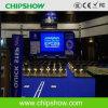 Exposição de diodo emissor de luz pequena elevada do passo do pixel da definição P4 de Chipshow
