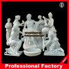 La baignade des statues de marbre Itlian Sculpture Sculpture de Pierre de l'hôtel