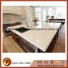 Parte superior/bancada brancas de pedra artificiais do banco da pedra da cozinha