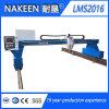 Máquina para corte de metales de la alta de la configuración del pórtico plasma del CNC