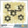 Materiali di pietra di marmo Polished naturali della pietra del mosaico per le costruzioni