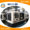 El torno del CNC de la base plana que da vuelta de centro/funciona por completo torno del CNC