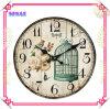 Regali rotondi del ricordo dell'orologio di quarzo del giardino del metallo