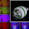 Lumière d'ampoule tournante automatique colorée d'étape d'E27 3W RVB LED