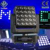 5X5X15Вт Светодиодные технологии Pixel этап перемещение светового пучка света