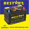 Beastar 12V 74ah LÄRM Standard-Trockene belastete Autobatterie 57412