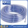 Tuyau en plastique transparent de ressort de PVC de biens à haute pression