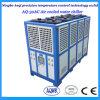 주입 기계를 위한 높은 냉각 수용량 공기에 의하여 냉각되는 물 냉각장치