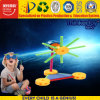 2017 nuovi kit educativi dei robot del giocattolo in giocattolo di plastica dell'attrezzo del gioco dei portelli