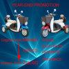 trotinette elétrico da mobilidade das rodas elegantes do estilo 500W 3 para velhos ou os deficientes motores (TC-014)