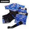Rugby ajustado Jersey da equipe em branco dos homens do OEM da fábrica (R011)