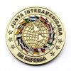 La meilleure pièce de monnaie faite sur commande d'enjeu de Ministère de la justice de placage à l'or en métal
