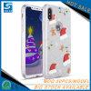 De Telefoon Shell 3 van de Gift van Kerstmis in 1 schittert het Geval van de Telefoon van de Cel TPU voor iPhone X