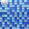 아름다운 방수 Indoor 23X23 Glass Mosaic Swimming Pool Tile