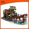Новый дизайн пользовательских большой тематический парк детей для использования внутри помещений пластиковые игровая площадка