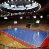 Piso de calidad superior del deporte del rodillo y del dispositivo de seguridad para el balompié/el baloncesto L corte de Futsa