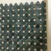 Großhandelsmarmormosaik, dunkelgrüne Mosaik-Fliese für Dekoration