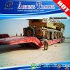 Гидровлический складывая трейлер Gooseneck Lowbed/Lowboy Semi