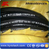 Wire Braided and Textile Covered Hydraulic Hose (SAE 100R5)