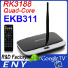 Ekb311 caja androide CS918 (EKB311) de la base TV del patio