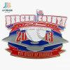 L'abitudine calda del gioco di baseball della vernice dello smalto della lega di vendita mette in mostra il Pin dell'emblema