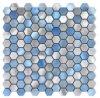 2017 het Nieuwe Hexagon Mozaïek van het Metaal