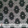 Черная Nylon ткань шнурка в Rolls (M4014)