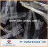 Конкретное волокно 25mm цемента сетки волокна полипропилена PP 38mm 50mm