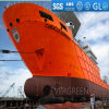 Utilizado para Ship Launching y Landing Marine Rubber Airbag