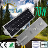 Alle in einem LED-Solarstraßenlaterne70W
