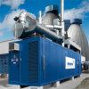 Groupe électrogène de gaz naturel d'OEM Mannhein 800kw pour la maison électrique de puissance produisant du générateur de gaz de rendement élevé