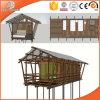 Casa de madeira do irmão Prefab das cabines da barraca por Madeira Indicador e por fornecedor da porta, casa de madeira pré-fabricada da venda quente