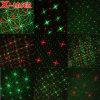 Licht van de Laser van Kerstmis van acht Patronen het Openlucht Bewegende Waterdichte