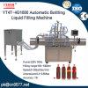 Quattro teste automatiche che imbottigliano la macchina di rifornimento liquida per aceto (YT4T-4G1000)