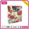 Bolso colorido del regalo de las flores del papel revestido