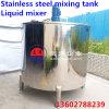Tambor de mistura de mistura do aço inoxidável do tanque do aço inoxidável, único misturador da camada, misturador líquido Nanyang