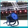 DMX 18PCS 10W RGBW 4in1 LED NENNWERT kann Licht positionieren