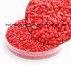 Rote Plastikkörnchen Deko Granulat 25kg pp.-Masterbatch Remafin